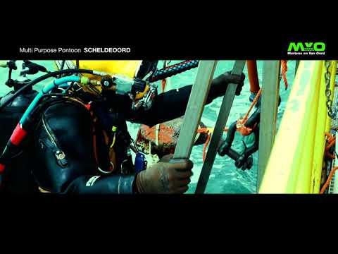 Dronevlucht brengt (offshore project) Scheldeoord/MVO in beeld