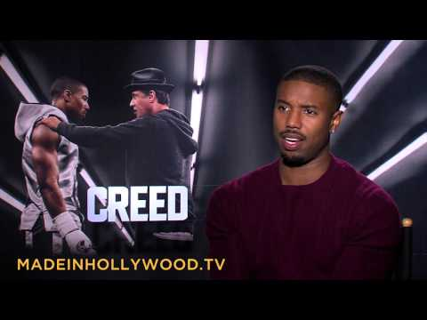 Michael B. Jordan's 'Creed' Uncut Interview