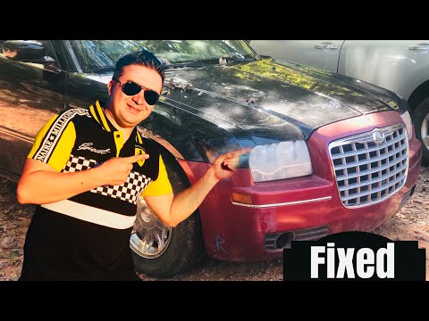 Fixing Chrysler 300 C Front End in under 5 mins How To DIY Auto Body Repair