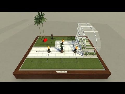 Hitman GO VR - Oculus Rift gameplay