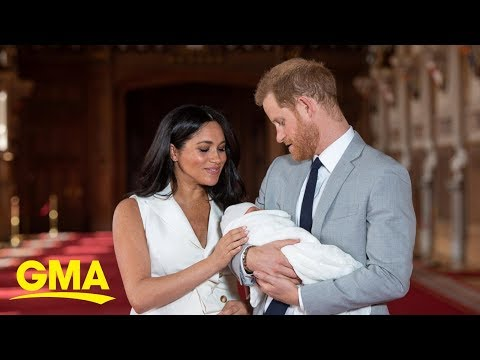 Shelley Wade - Watch: Meghan Markle Speaks About Her New Baby
