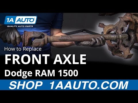 How to Replace Front Axle 94-02 Dodge RAM 1500