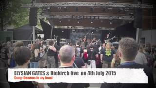 Elysian Gates @ Diekirch live - Demons in my head -