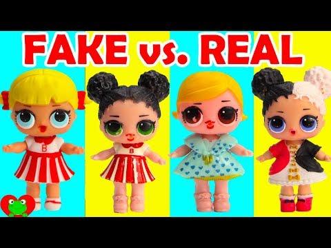 FAKE LOL Surprise Dolls Fake vs Real