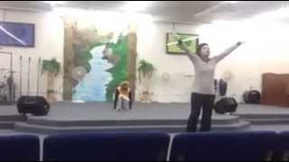 The Anthem mime/praise dance - William Murphy