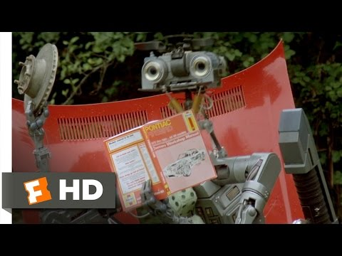 Short Circuit (5/8) Movie CLIP - Disassembling Frank's Car (1986) HD