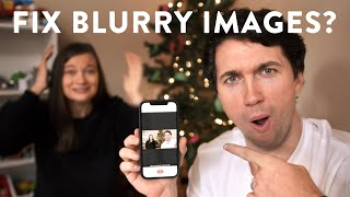 "Using AI to Repair Blurry Pictures! | New Mobile App ""Remini"""