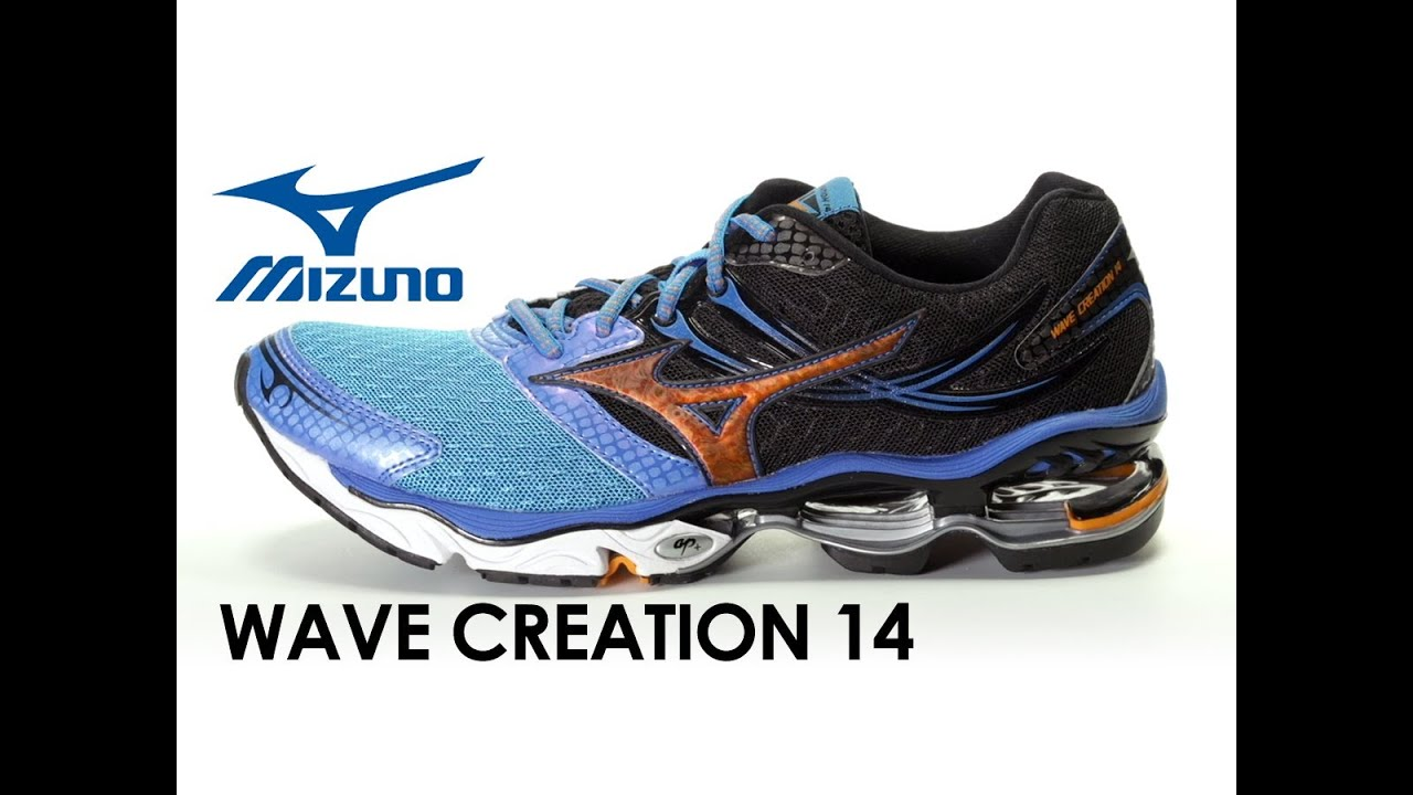 25c1200ad5eb1 Mizuno Wave Creation 14 for men - YouTube