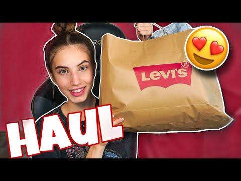 Video: ENDLICH😍 LEVI'S HAUL