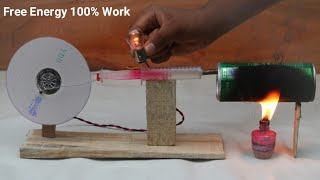 Free - Energy Steam Engine || how to make - at your home ||
