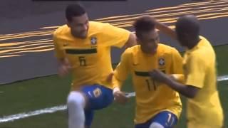 Música da Copa do mundo 2014 Com Neymar, Fred e Felipão - Olê Olê - Alex e Rafael.avi