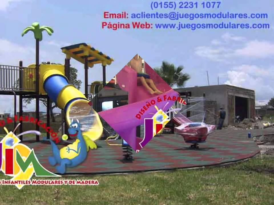 juegos infantiles a la medidas de sus necesidades para interior y exterior
