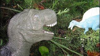 Динозавры для детей. КАК ЗАЩИТИТЬ долину Динозавров от ТИРАННОЗАВРА? План СПИНОЗАВРА!