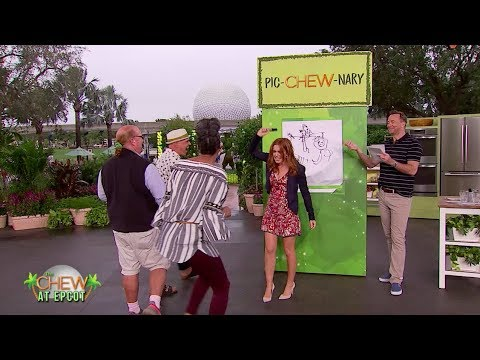 Isla Fisher Plays PIC-CHEW-NARY On The Chew!