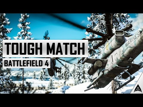 Tough Match in the Attack Helicopter - Battlefield 4