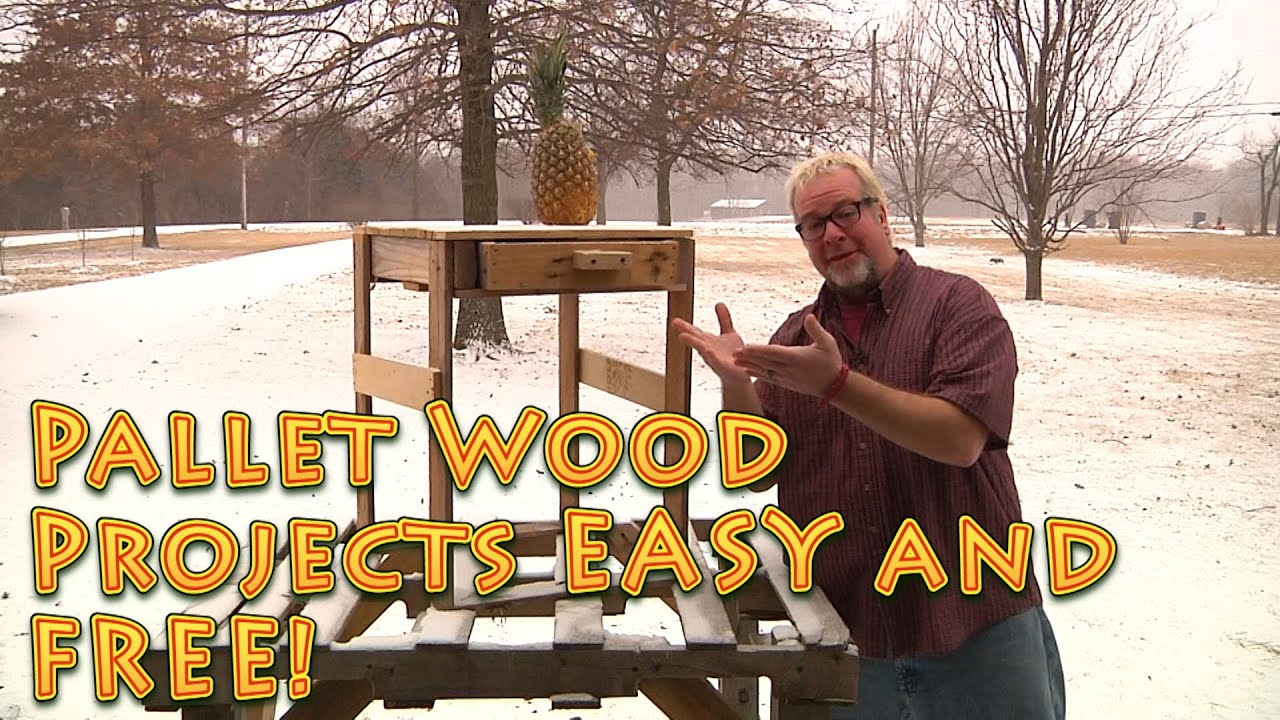 ... Wood Projects for FREE and are EASY to do. Recycled wood - YouTube