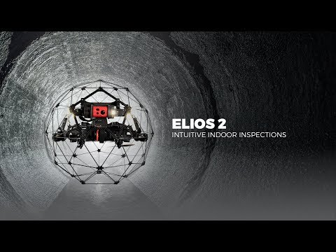 Elios 2 - Intuitive indoor inspection drone for confined spa