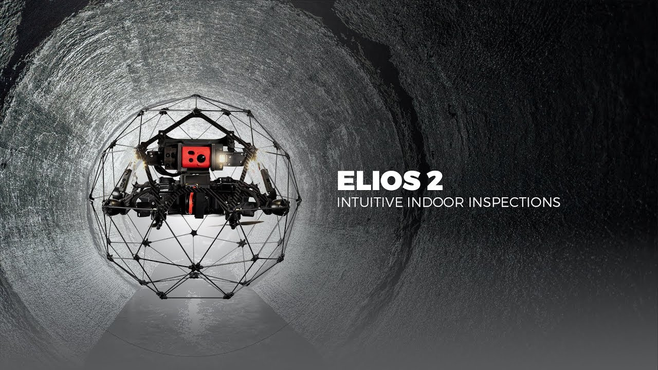 Elios 2 - Intuitive indoor inspection drone for confined spaces
