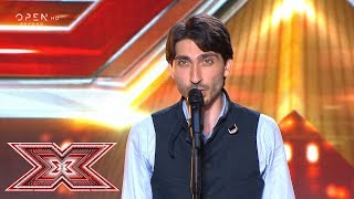 The Phantom of the Opera» από τον Βαγγέλη Γεωργουσίδη Κυριακίδη | Auditions | X Factor Greece 2019
