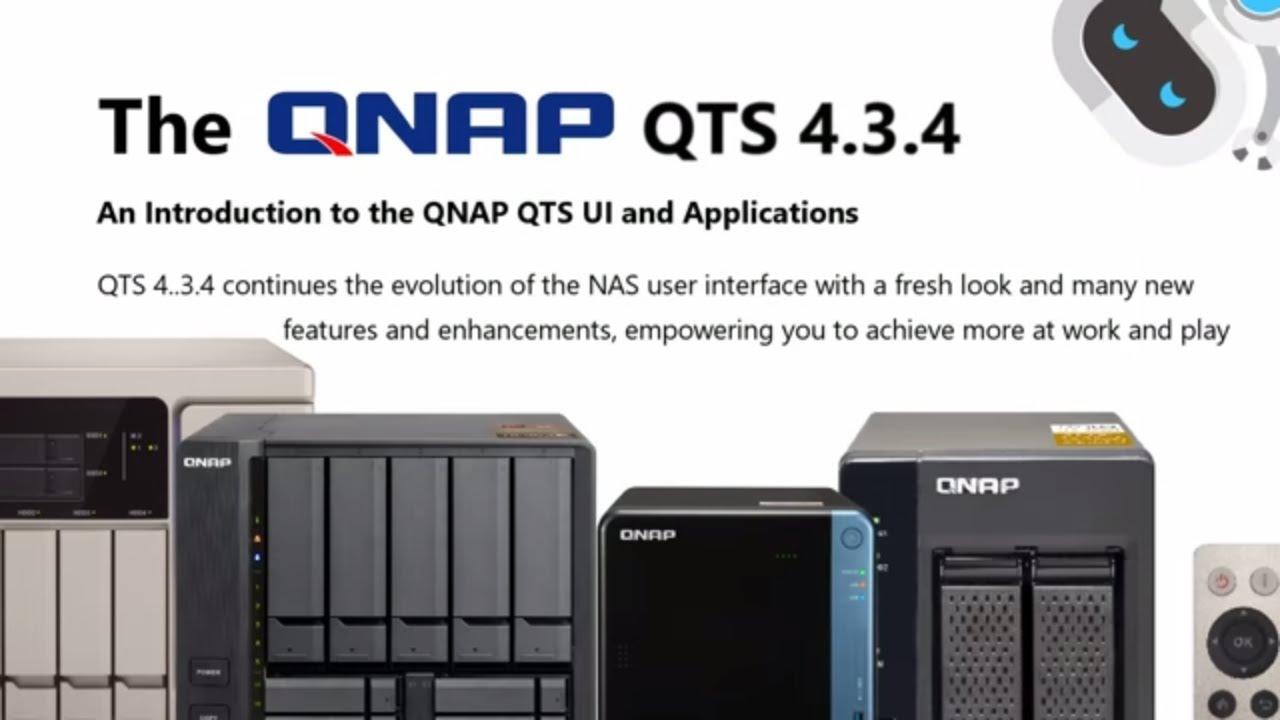 QNAP QTS 4 3 4 Software Full Overview