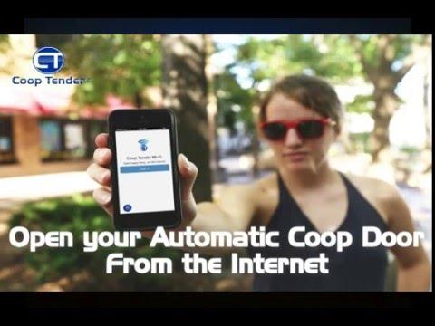 Automatic Chicken Coop Door - Open Coop Door From Internet