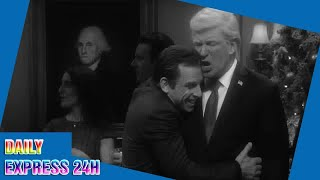 SNL cold open imagines a world where Trump isn't president, angering the real-life Trump