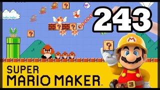 Super Mario Maker (WiiU): Ep #243 - Martellata di disturbo - Gameplay Ita