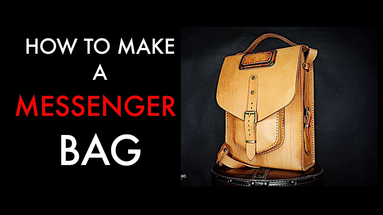 77028815efe messenger bag tutorial - YouTube