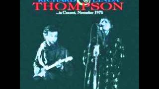 Richard and Linda Thompson - I want to see the bright light tonight