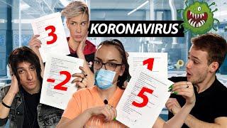 RJEŠAVAMO TEST O KORONAVIRUSU | Bruno & Marco & 10ficho & Doris
