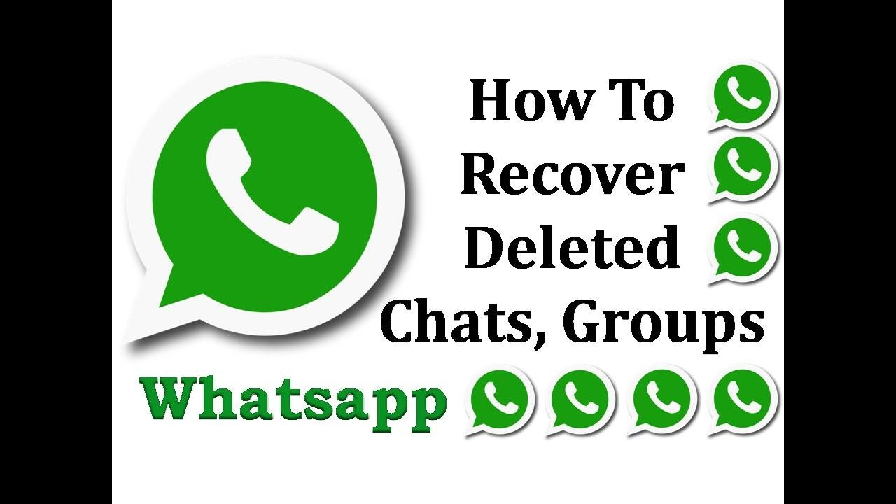 How To Recover Deleted Whatsapp Chats Messages Amp Media
