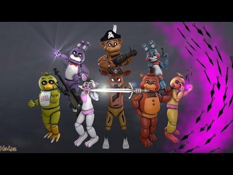 [FNaF] Foxy X Mangle Monster (Remix)
