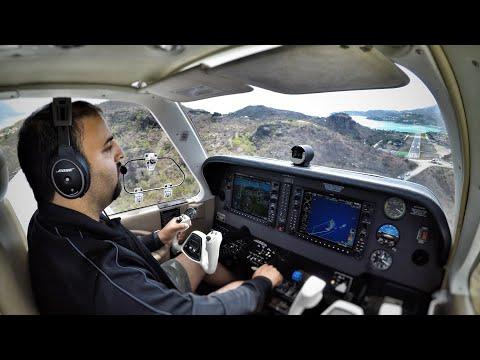Can I LAND This Plane? - Bonanza G36 Trip. (ATC AUDIO)