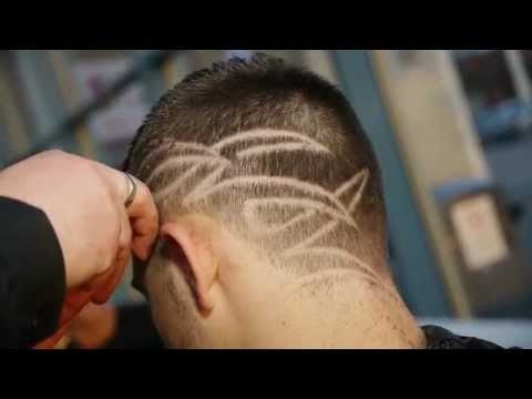 Freestyle Hair Pattern Cutting Demonstration - Scott Gleadow