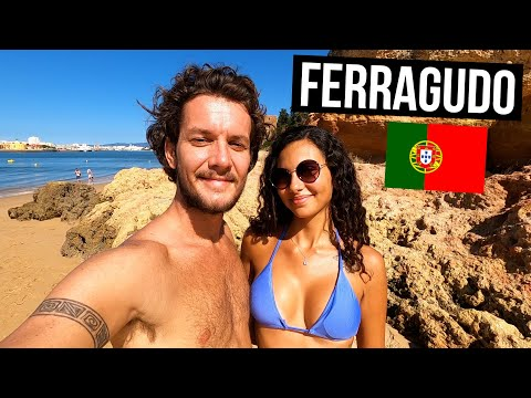 THE ALGARVE IS STUNNING! 🇵🇹 FERRAGUDO (TRAVEL PORTUGAL)