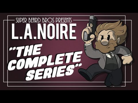 L.A. Noire The Cops Are Back In Town | Ep. #1 | Super Beard Bros