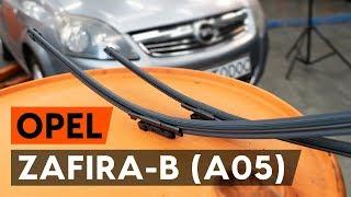 Как се сменя Комплект накладки на OPEL ZAFIRA B (A05) - видео ръководство