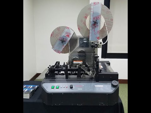 Secap T-2000 Tabbing Machine - PFS YouTube