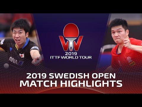 Jun Mizutani vs Fan Zhendong | 2019 ITTF Swedish Open Highlights (R16)