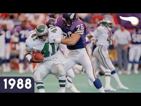 Eagles vs. Vikings (Week 4, 1988) Classic Highlights