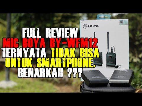 Full Review Mic Wireless Boya BY WFM12 | Mic Untuk Smartphone HP & Kamera DSLR