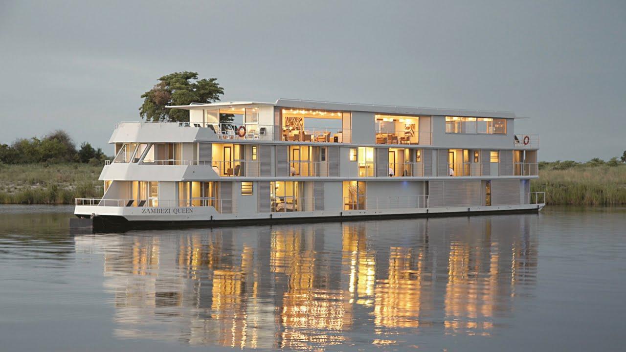 Zambezi Queen Luxury African River Safari Youtube
