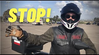 How To Stop Fast On A Motorcycle ~ MotoJitsu