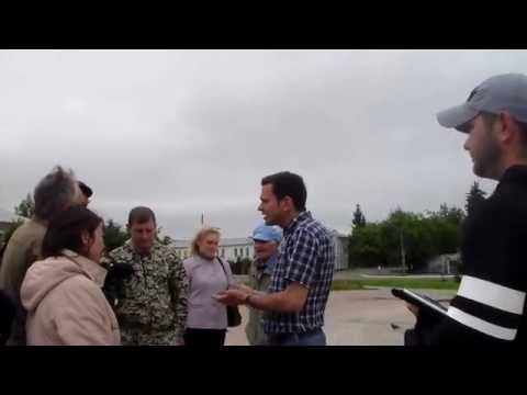 Илья Яшин посетил  г.Буй в Костромской области 12.07.2015