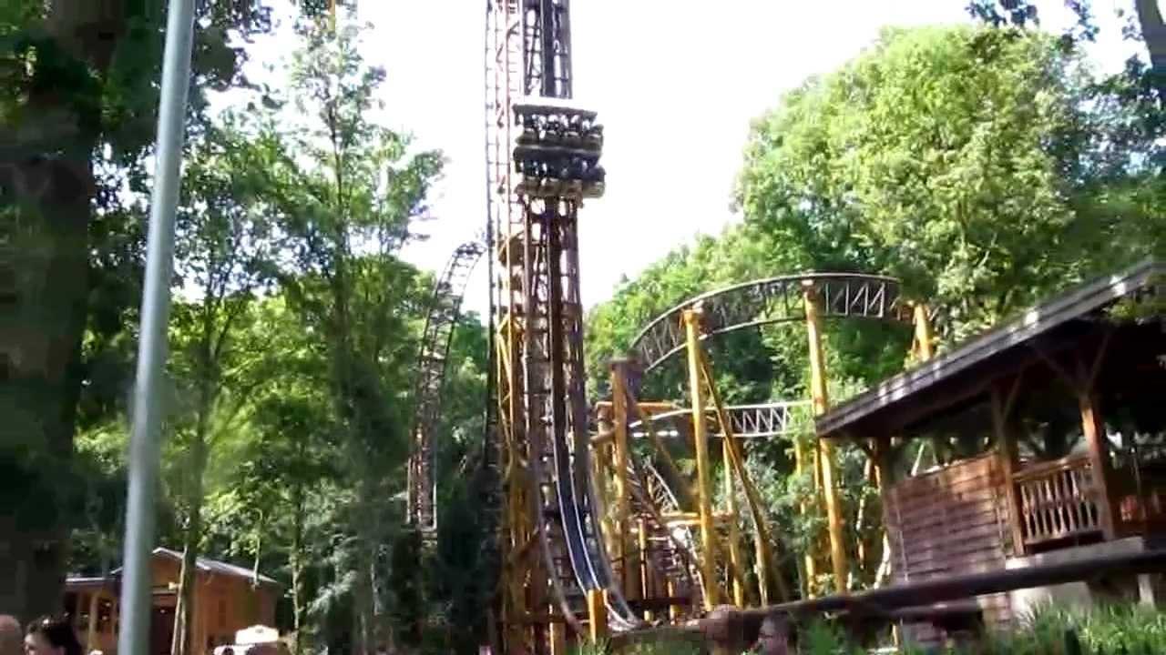 Falcon duinrell theme park tikibad wassenaar holland for Amusement park netherlands