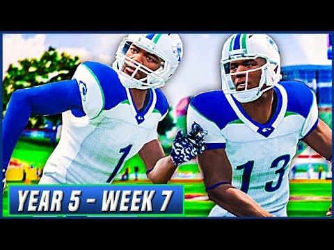 NCAA Football 14 Dynasty Year 5 - Week 7 @ #6 New Mexico   Ep.79