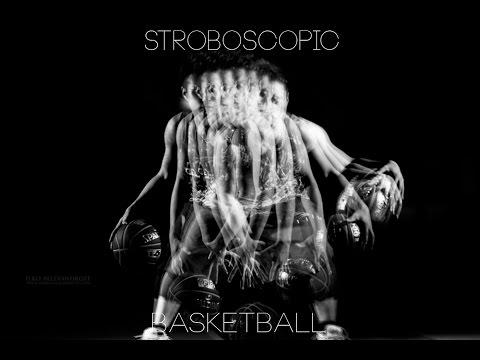Strobist video: Stroboscopic shoot of a basketball player / マルチ発光 撮影 バスケットボール バージョン