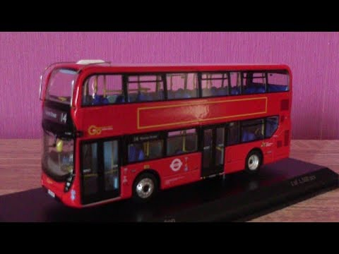 Northcord Model Company | Alexander-Dennis Enviro 400H MMC Go Ahead London | 1:76 Scale | Review HD