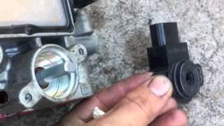 micra K11 throttle body repair