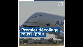Le Beluga XL, le nouvel avion-cargo d'Airbus, a réalisé son premier...